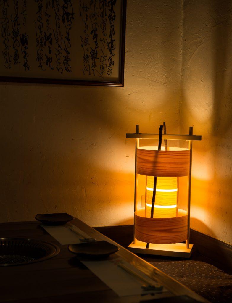 照明 樹香灯