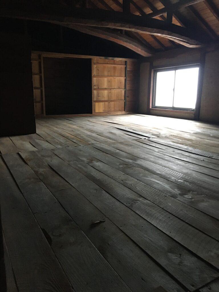 古民家 改修工事始まりました。